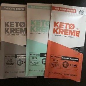 Pruvit Keto Kreme multi pack of 3 Packs.